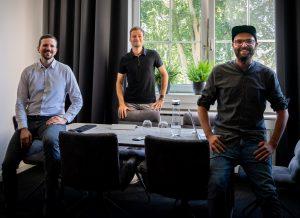 vlnr: Stefan Hafenscher, bakk.komm; Mag. Philipp Infanger; Mag. Markus Strengberger