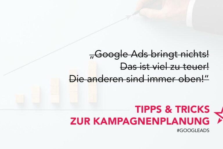 Google Ads Tipps & Tricks zur Kampagnenoptimierung