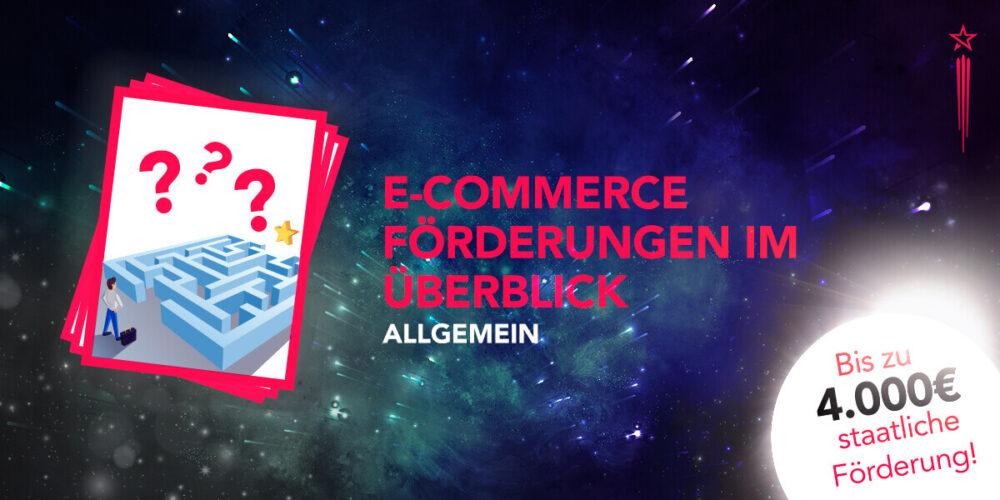 Zenitblau E-Commerce Förderungen im Überblick