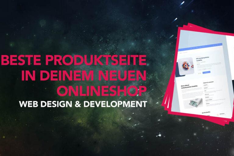 Wie sieht die beste Produktseite in deinem neuen Onlineshop aus?