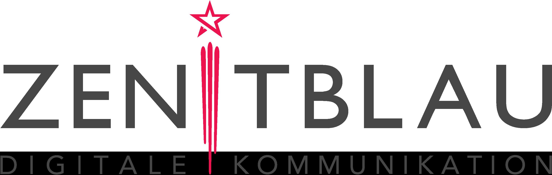ZENITBLAU Agentur für digitale Kommunikation Logo